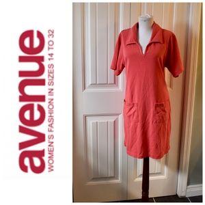 Avenue Pullover Dress Size 14 16